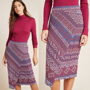 Anthropologie | NWT Carolina Knit Pencil Skirt